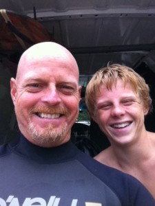 Lee and Jake Brinn Surf obsessionists